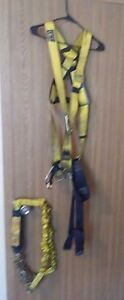 Bi Sala Full Body Safety Harness Delta Style With Lanyard