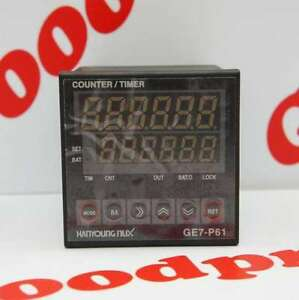 Hanyoung Digital Batch Counter timer Preset 6digits Ge7 p61a 100 240v Nib