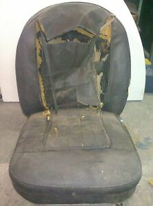 Vintage Passenger Bucket Seat Fiat Or Simca Or Volkswagen Identify And Buy