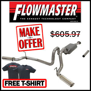 Flowmaster 2016 2018 Toyota Tacoma 3 5l V6 Cat Back Stainless Dual Exhaust Kit