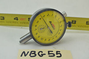 Sunnen 4s2219 Dial Indicator 6 Jewels 0 002mm Bore Gage Dial Indicator