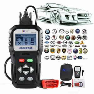 Automotive Obd2 Eobd Clear Erase Ecu Code Reader Scanner Car Diagnostic Tool