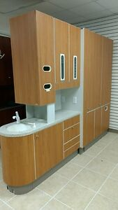 Adec 5543 Center Island Console W X ray Pass Through Sink