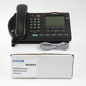 Nortel Meridian M3904 Display Avaya Phone Charcoal Bulk