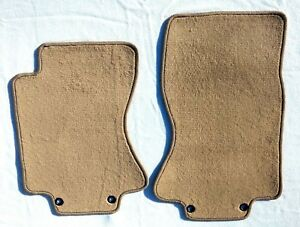 Jaguar S Type 2pc Front Floor Mats Beige Tan Custom Fit Carpet For 2003 2008 New