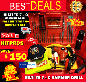 Hilti Te 7 c Hammer Drill L k Preowned Free Hilti Thermo Strong Fast Ship