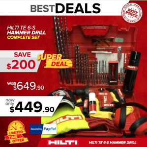 Hilti Te 6 s L k Very Strong Free Extras Made In Germany Fast Shipping