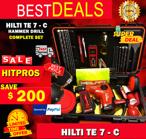 Hilti Te 7 c Hammer Drill Durable Excellent Condition Fast Shipping Free Staff