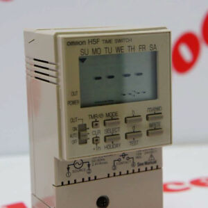 Omron Digital Time Switch H5f fb H5ffb Ac100 240v Nib