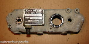 Am100734 John Deere 755 Compact Tractor Engine Valve Cover 3tna72uj