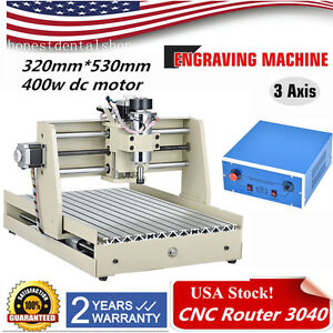 Cnc Router 3040 Engraver Engraving Drilling Cnc Milling Machine Cutting 400w