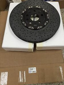 2014 15 Chevy Camaro Z28 Front Carbon Ceramic Rotors Gm Oem 22958646 177 1164