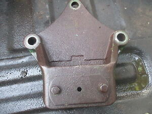 1964 Oliver 1800 Diesel Tractor Draw Bar Anchor Support Bracket Free Shipping
