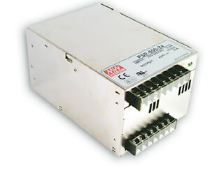 Mean Well Psp 600 24 Ac dc Power Supply Single out 24v 25a 600w Us Authorized