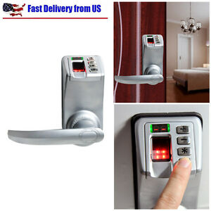 Fingerprint Door Lock Biometric Keyless Keypad Password L r Handle Adel Diy 788