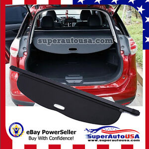 Fit 2014 17 Nissan Rogue X trail Suv Rear Trunk Cargo Luggage Cover Shield Usa