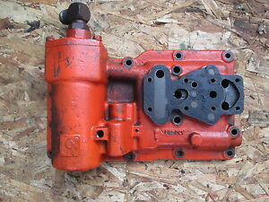 1966 Case 430 Gas Utility Tractor Transmission Hydraulic Cover