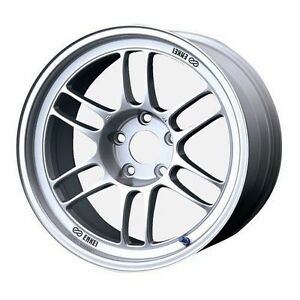 Enkei 5x114 3 17x10 18 Rpf1 Rpf 1 Lightweight Track Racing Wheel 18mm Offset