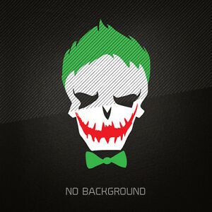 Suicide Squad Decal Sticker 3 Color Joker Batman Dark Knight Dc Comics