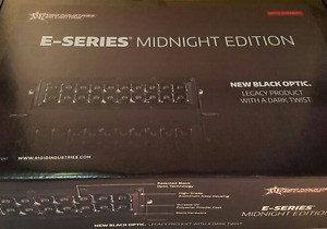 Rigid Industries Midnight Edition E series 20 Led Spot Light Bar 120212blk