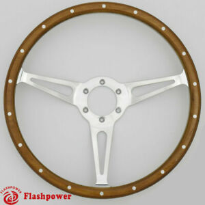 15 Classic Wood Steering Wheel Restoration Vintage Ford Mustang Shelby Ac Cobra