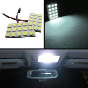 15 smd Universal Panel Festoon Leds License Plate Interior Trunk Lights white