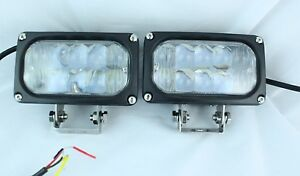2 4x4 Off Road 5 5 Universal Driving Lamps Cree Led Fog Lights Set Kit 30w