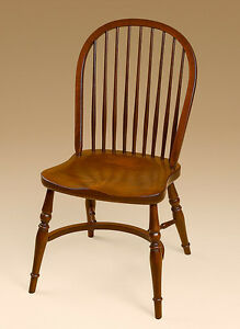 English Style Windsor Chair Cherry Wood Dining Room Or Kitchen Furniture