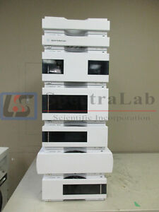 Agilent 1260 Hplc With 1260 G1312b Binary Pump G1315d G1316c With Switch Valve