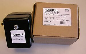 69hau1 Air Compressor Pressure Switch 115 150psi W unloader Furnas hubbell Usa