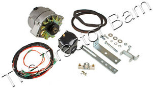 Ford 2n 8n 9n 12 Volt Alternator Conversion Kit Tractor 12 6 Volt 8ne10300alt c