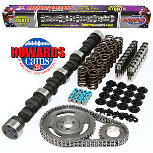 Howard s 2400 6200 Rpm Chevy Big Daddy Rattler 297 305 507 495 109 Cam Kit
