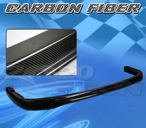 For Acura Integra 92 93 T R Style Front Bumper Lip Body Kit Carbon Fiber Cf