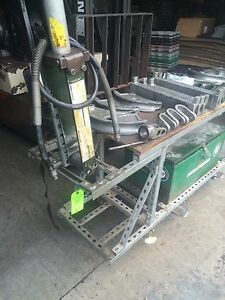 Greenlee 882 cb Hydraulic Pipe Bender 1 1 4 2 Emt Rigid Conduit W table Shpfob