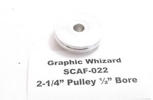 Graphic Whizard Scaf 022 2 1 4 Pulley 1 2 Bore Prepaid Shipping