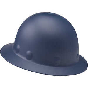 Fibre metal Roughneck P1 Full Brim Hard Hat With Ratchet Blue