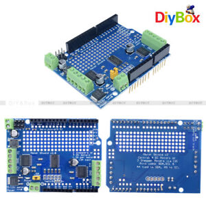 Tb6612 Stepper Motor Pca9685 Servo Driver Shield V2 For Arduino Robot Pwm I2c