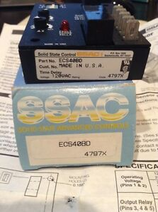 Ssac Inc Ac Current Sensor Part Ecs40bd 120 Volts Ac Solid State Control