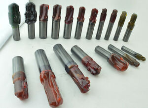 Star Su Lot Solid Carbide Step Drills 18pc Assorted Port Contour Cutters 17lbs