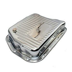 New 727 Torqueflite 3 Deep Chrome Plated Automatic Transmission Oil Pan