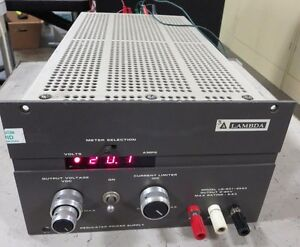 Lambda Electronics Lq 531 Dc Power Supply Output 0 20 Vdc 0 8 6 Amp Curren