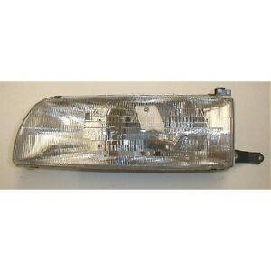 Brand New 91 93 Toyota Previa Headlight Headlamp Driver Left Side Ready To Ship