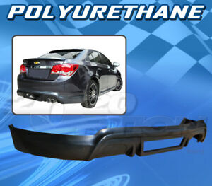 For Chevrolet Cruze 11 12 T 3 Style Rear Bumper Lip Body Kit Polyurethane Pu