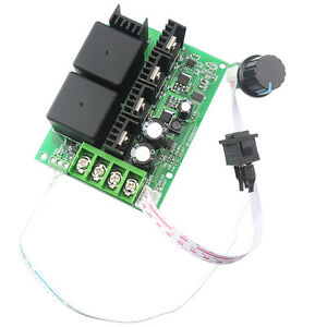 10 50v 40a Pwm Dc Motor Speed Controller Cw Ccw Reversible Plus Driver