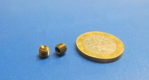 Brass Set Screws Cup Point 10 32 X 3 16 Length 100 Pieces