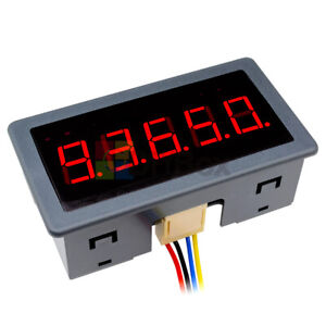 Dc12 24v 0 56 Red Led Digital Counter Meter Count Timer Timing Three Function