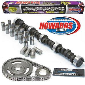 Howard s 1600 6000 Rpm Chevy Bbc 279 289 527 533 110 Cam Kit With Timing Set
