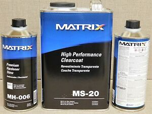 1gal Ms 20 Matrix Clearcoat Choice Of Hardener Similar To Dcu2021 72500s Usa