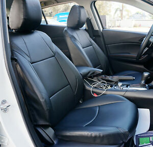 Mazda 3 2004 2012 Iggee S Leather Custom Fit Seat Cover 13 Colors Available
