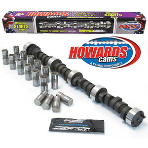 Howard s 2400 6500 Rpm Bbc 291 291 553 553 108 Cam Camshaft Lifters